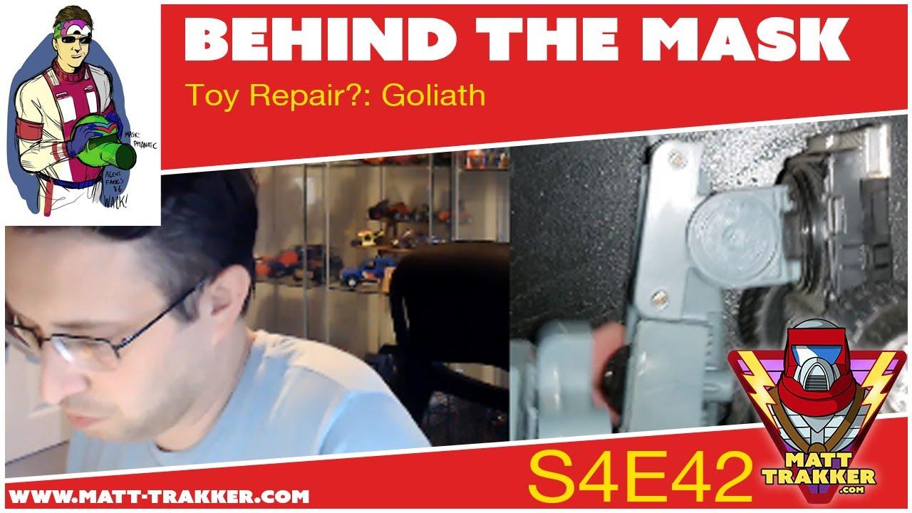 Toy Repair?: Goliath - S4E42