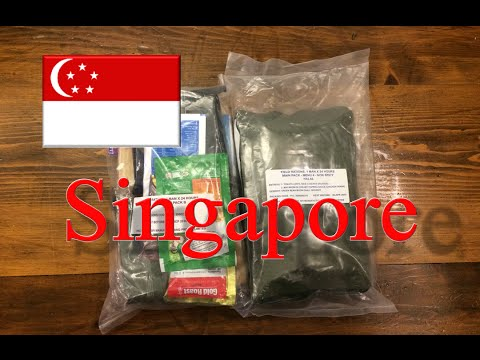 Singapore 24 Hour Ration with Accessory Packet
