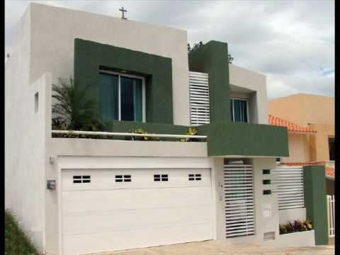Casas construidas youtube for Decoracion exteriores casas modernas