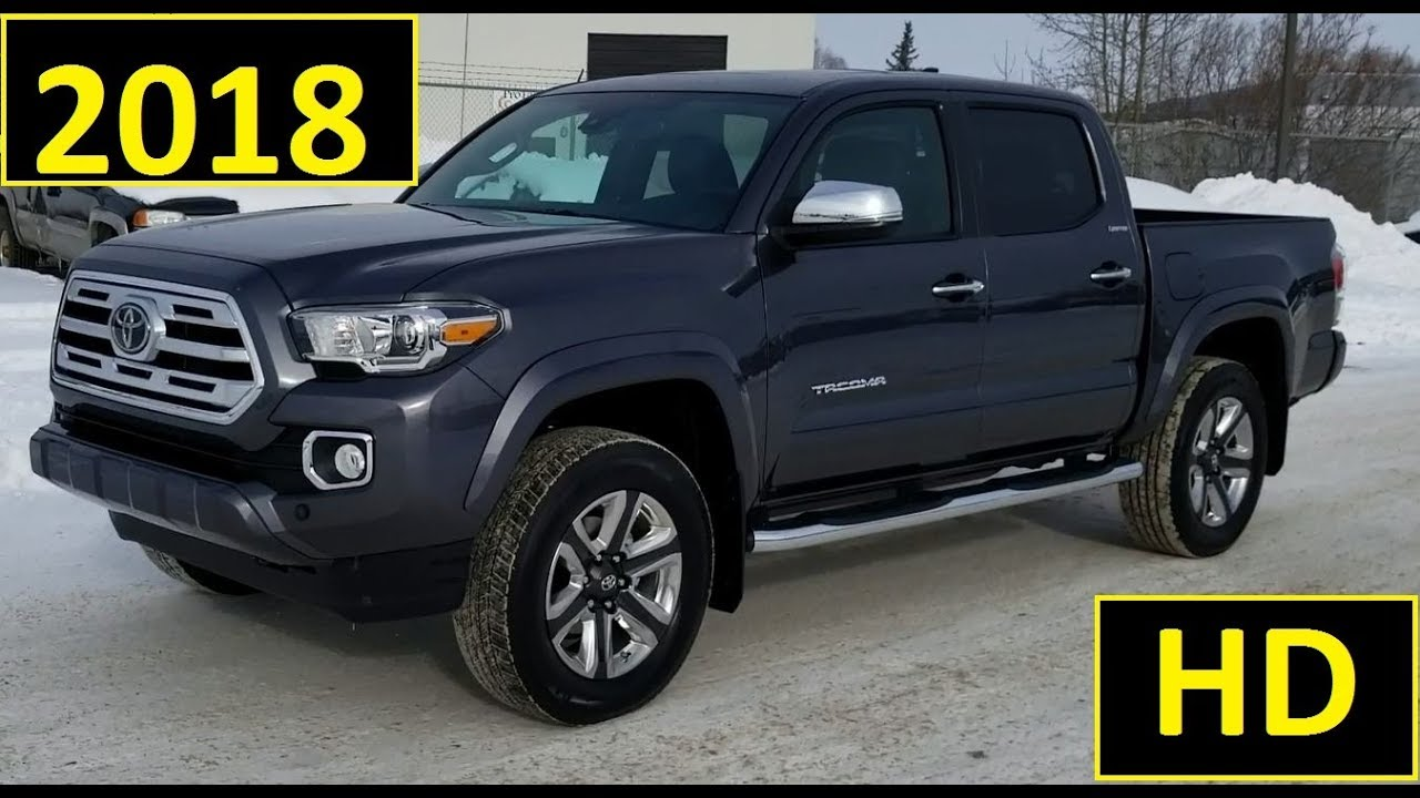 Tacoma Double Cab >> 2018 Toyota Tacoma Double Cab Limited Review of Features ...