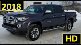 2018 Toyota Tacoma Double Cab Limited Review of Features and drive at Mayfield Toyota Edmonton