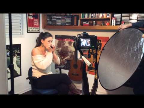 Indiara Sfair - Harmonica / Gaita -  Palhinha do Making of ;)