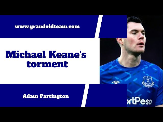 Michael Keane reminds us that footballers are human too