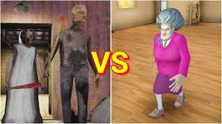 Granny Chapter Two vs Scary Teacher 3D
