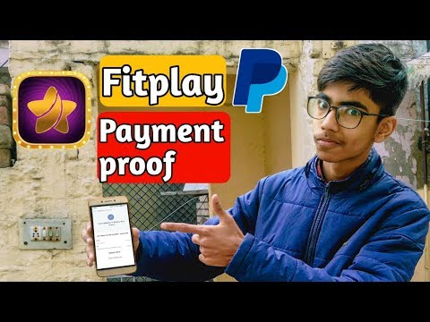 Fitplay app live payment proof of PayPal Cash | Refer 3 friends and earn PayPal cash