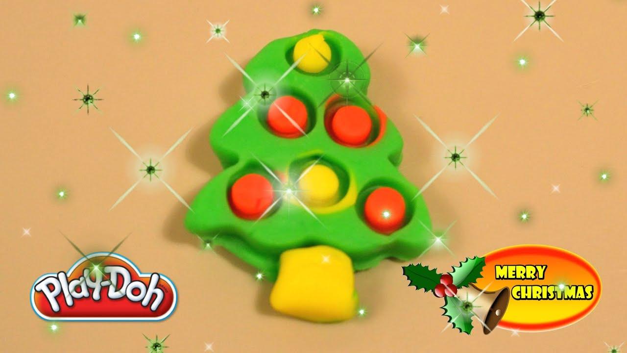 Christmas Play-Doh Creation Playdough Christmas Tree Santa Claus ...