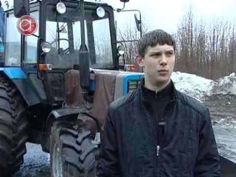 Заводим трактор МТЗ 50 //Жизнь в деревне | Doovi