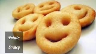 Potato Smiley Recipe in Tamil | Kids Special Potato Fry Recipe | Crispy Snack Recipes in Tamil | Fry