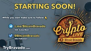 $BTC Short Cashed In What Now? Crypto Live w/ Bitcoin Bravado Ep.  8