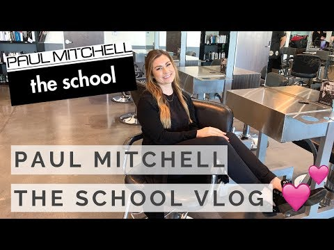 A DAY IN THE LIFE AT PAUL MITCHELL THE SCHOOL 2018 | Kellie Rae