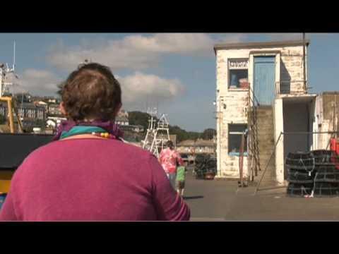 Cornish artists trailer
