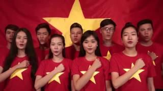 200 nghệ sĩ hát TIẾN QUÂN CA Bài hát quốc ca VIỆT NAM Nhiều ca sĩ