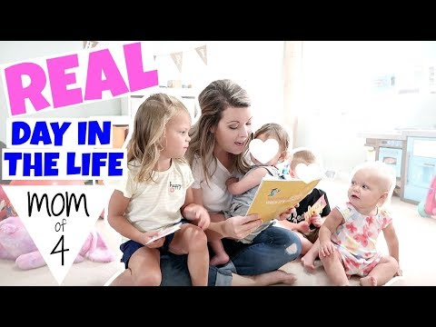 DAY IN THE LIFE OF A MOM OF 4 KIDS | SAHM DITL