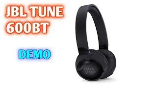 JBL Tune600 headphones demonstration