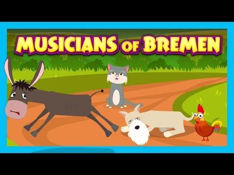 MUSICIANS OF BREMEN - STORIES FOR KIDS || KIDS STORIES - STORYTELLING
