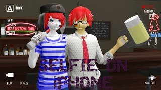 MMD/Countryhumans - Selfie on iPhone (RusGer) by Aniiie Kyla Lily