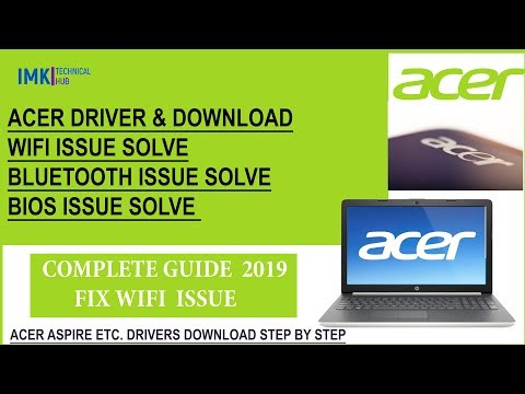 Acer Laptop Drivers & Download 2020 [Wifi Driver,Bluetooth Driver,Bios Driver Etc.]