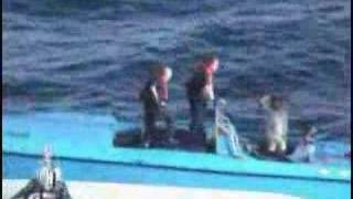 USCG - Sinking The Go Fast Boats, a 5220 Lb of Cocaine Bust
