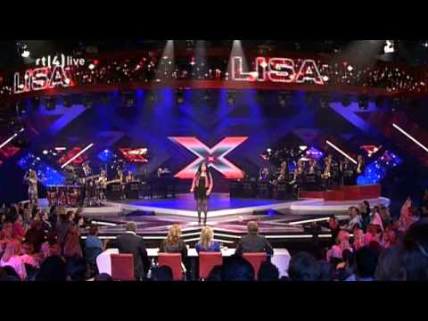 Lisa - X-factor NL 2009 - liveshow 6 - You're The Voice (John Farnham)