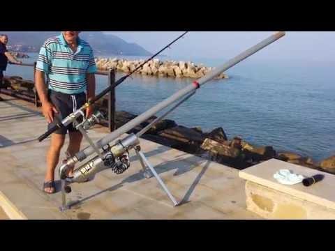 Genio, Cannone Spara L'esca A 300 M Per Pescare Spigole Orate Polpi Ecc  Sand Baster Baite Caster