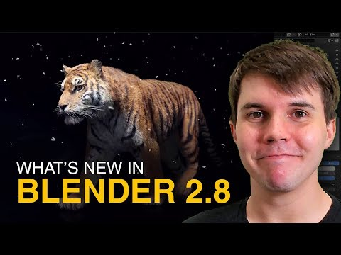 Why the NEW Blender 2.8 is a BIG DEAL