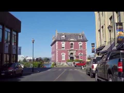 Driving In Downtown VICTORIA BC CANADA - Life On Vancouver Island - Tour