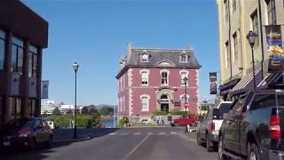 Driving in Downtown VICTORIA BC CANADA - 2017 Vancouver Island - Tour