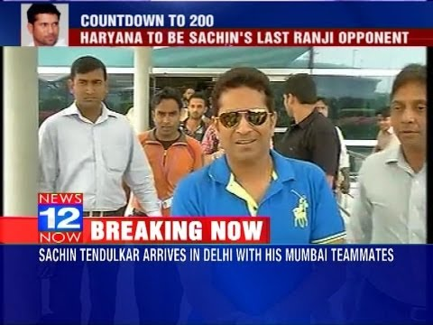 Sachin Tendulkar to play his last Ranji game