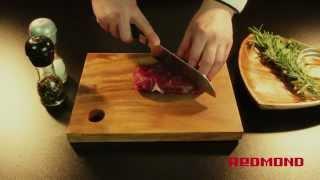 Стейк из говядины в мультиварке REDMOND RMC-M110