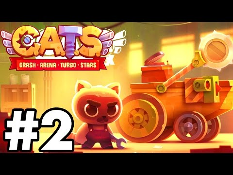 BEST BUILD..!!!!   C.A.T.S   Crash Arena Turbo Stars Gameplay Part 2 (IOS/Android)
