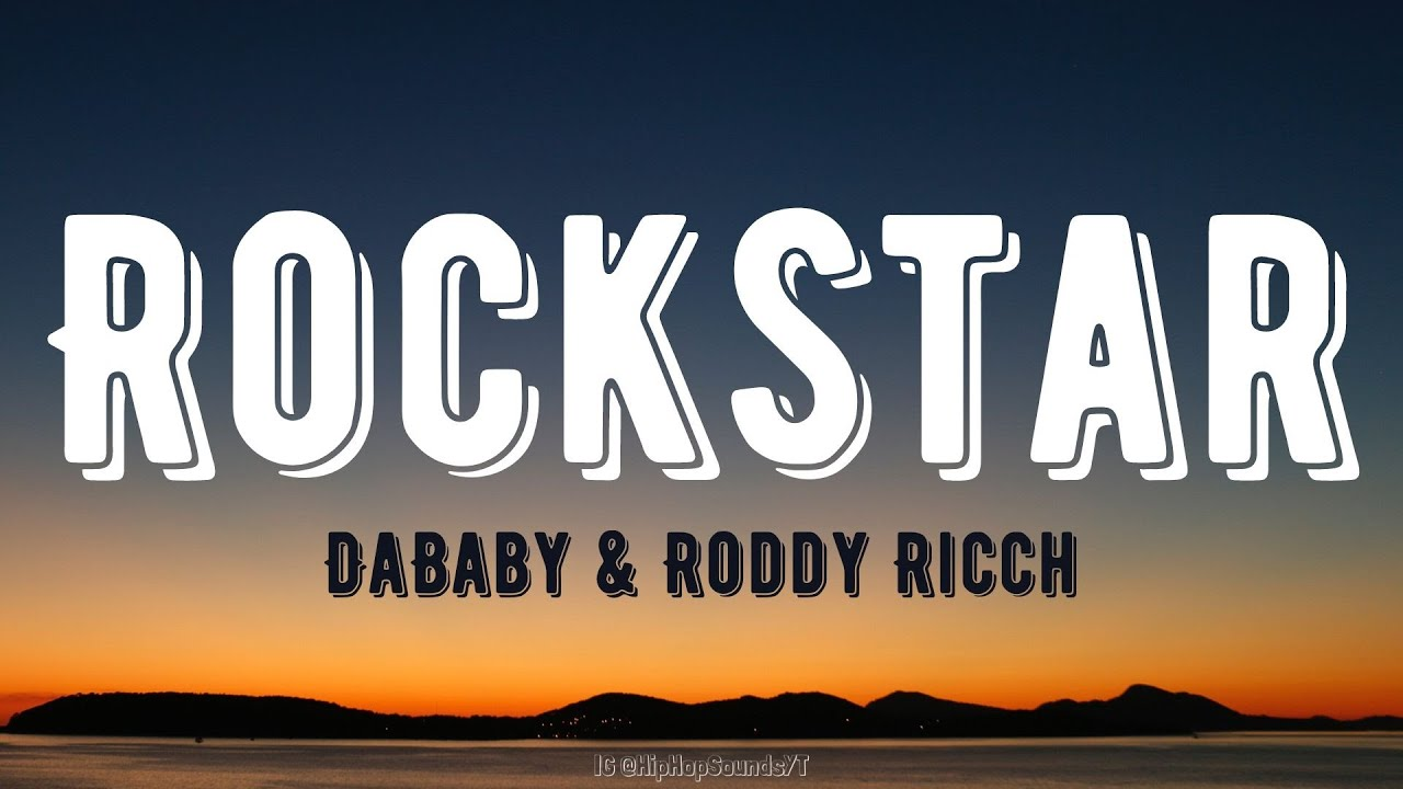 DaBaby - Rockstar ft. Roddy Ricch (Lyrics)