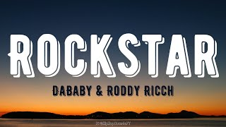 DaBaby - Rockstar ft. Roddy Ricch (Lyrics)