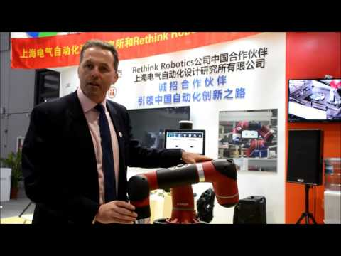 Rethink Robotics in Shanghai at the 2015 China International Industry Fair