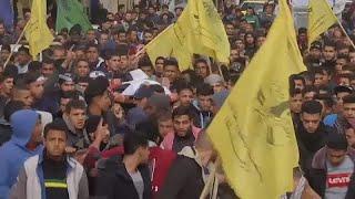 Palestinians bury the latest victim of Gaza border protests