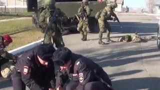 Учения в Уссурийске  военные уничтожили 50  террористов