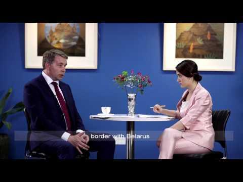 Yicai interviews Mr.Uldis Augulis, Minister for Transport, Latvia (12/13)