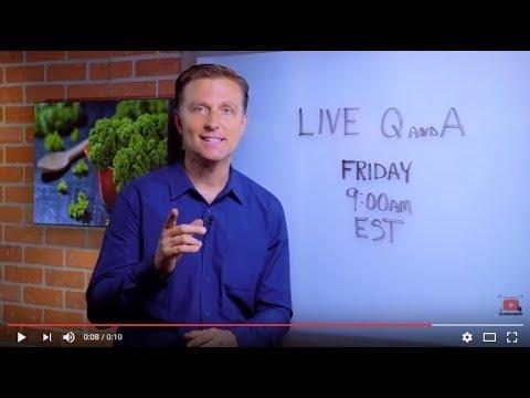 Dr. Berg Live Q&A: Friday 9:00 am EST (6-23-2017)