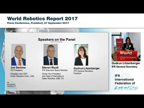World Robotics Report 2017
