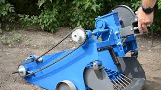 Видеообзор и ознакомление с картофелекопалкой транспортерной КРОТ (КРТ-1) AGROMARKA