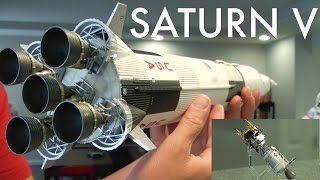 SATURN V ROCKET Apollo 13 edt. Bandai Tamashii Nations 1/144 scale NASA April. 11, 1970
