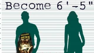"Become 6'-5"" Tall at any age! Subliminal Subconscious Hypnosis Binaural Beat Meditation Frequency"