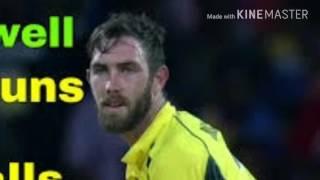 Glenn maxwell 145 runs in 65 balls against Sri Lanka in 1st T20