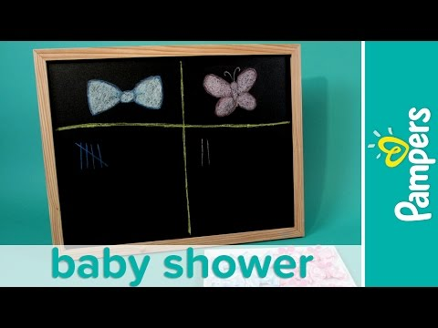 Baby Shower Games Ideas: Gender Reveal Game | Pampers