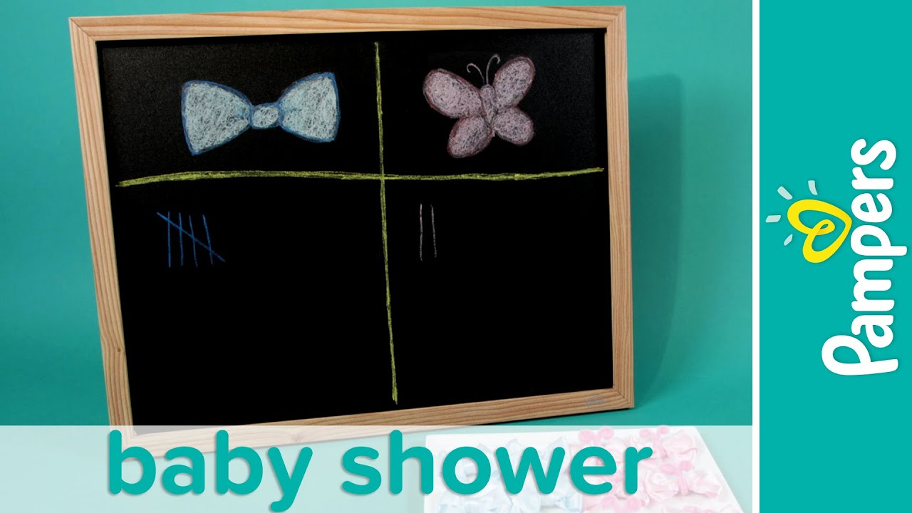 Baby Shower Games Ideas Gender Reveal Game Pampers
