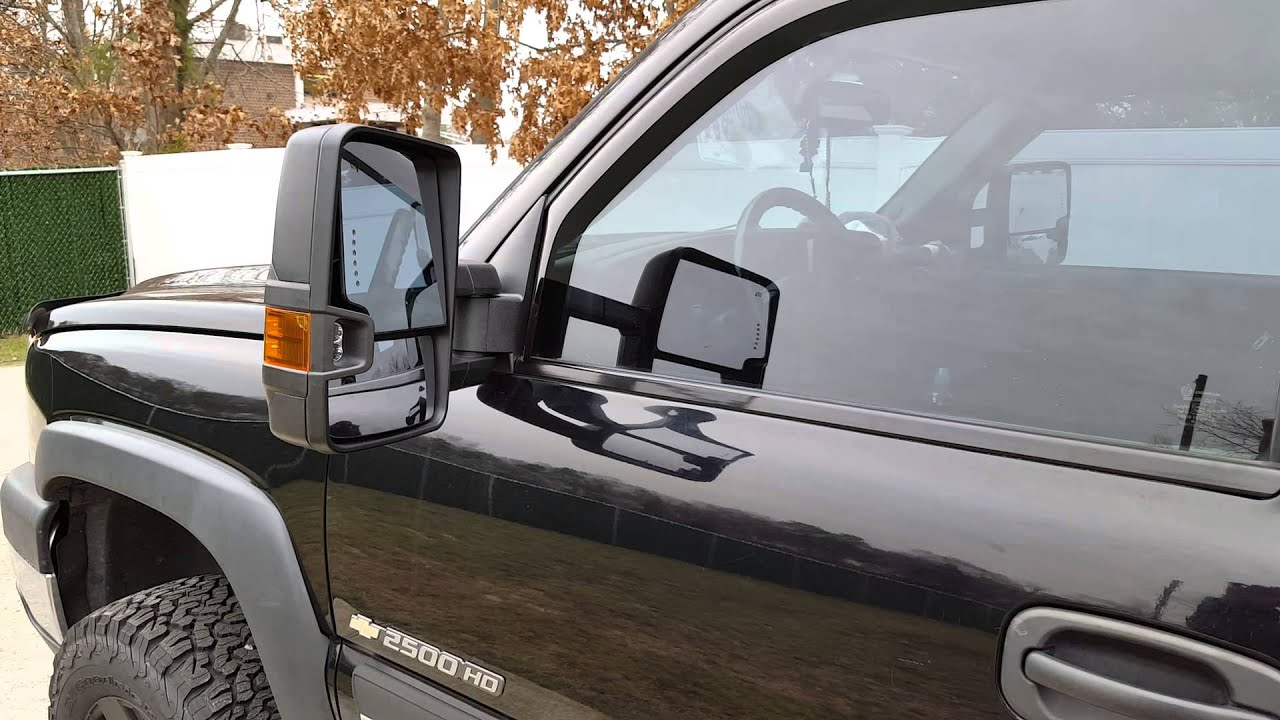15 High Country Mirror Swap Onto 06 Silverado Youtube
