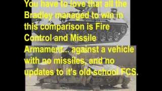 Dare to Compare --- M2A3 Bradley versus MOWAG Tornado!