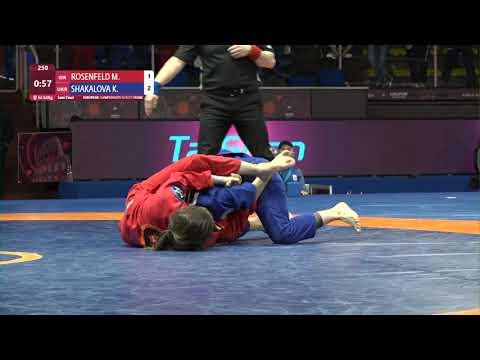 1/2 Women's GP GI - 64 kg: M. ROSENFELD (ISR) v. K. SHAKALOVA (UKR)