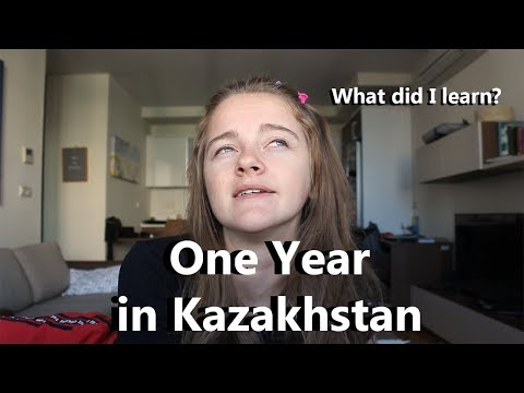 One year in Kazakhstan: What I've Learned