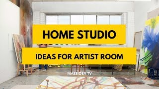 45+ Creative Home Studio Decorating Ideas for Artist Room