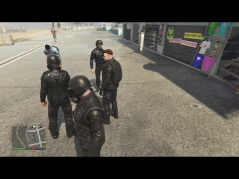 Gta 5 online   S.A.S Roleplay ep 1   The recruitment